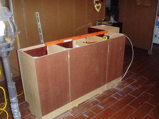 Simple Wood Deck Railing Designs Free Bar Plans Online